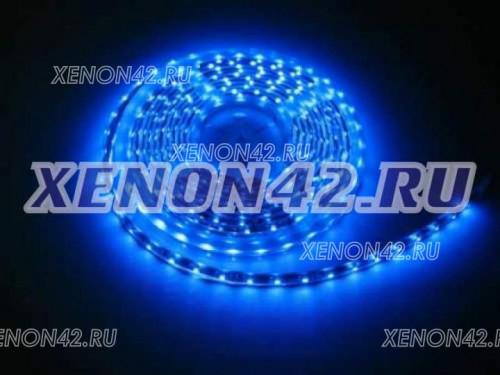 Светодиодная лента влагозащищенная - синяя