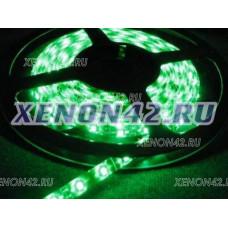 Светодиодная лента влагозащищенная - зеленая