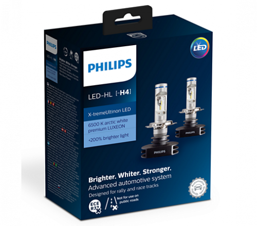 Лампа светодиодная X-treme Ultinon LED 6500К P43t-38 X2 Philips