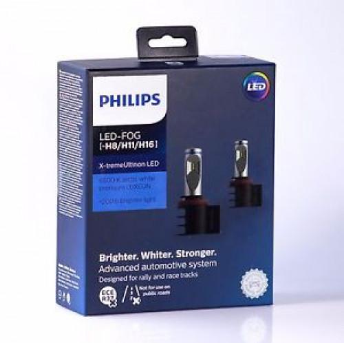 Лампа светодиодная X-treme Ultinon LED Fog White H8/11/16 белый свет 6500К PGJ19-1/2/3 X2